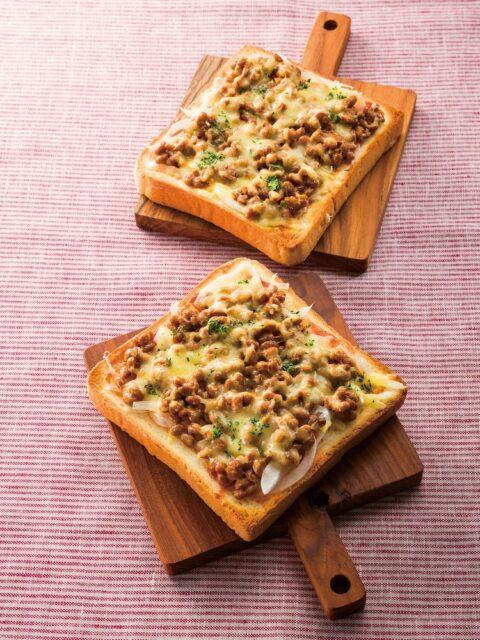 納豆とチーズ