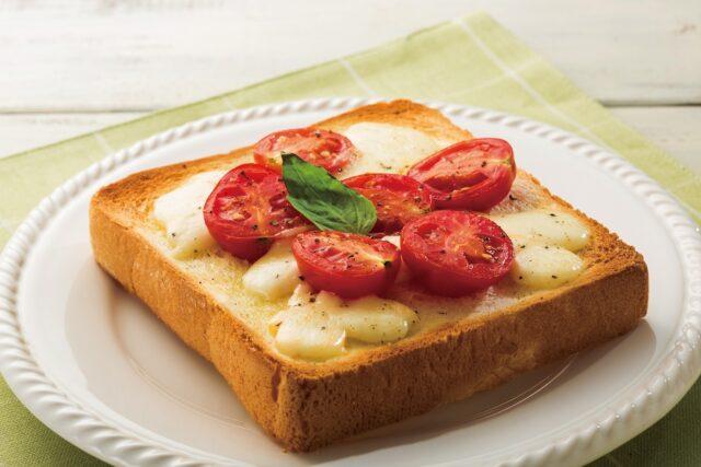 ミニトマトとモッツァレラチーズ